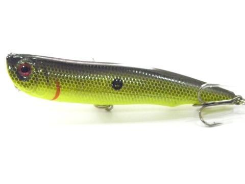Wlure 10Cm 17G Long Casting Topwater Popper Walking Lure 2 #4 Treble Hooks-wLure Official Store-W622X2-Bargain Bait Box