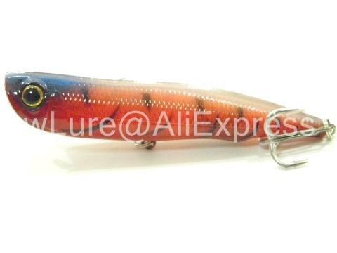 Wlure 10Cm 17G Long Casting Topwater Popper Walking Lure 2 #4 Treble Hooks-wLure Official Store-W622X3-Bargain Bait Box