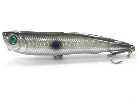 Wlure 10Cm 17G Long Casting Topwater Popper Walking Lure 2 #4 Treble Hooks-wLure Official Store-W622X38-Bargain Bait Box