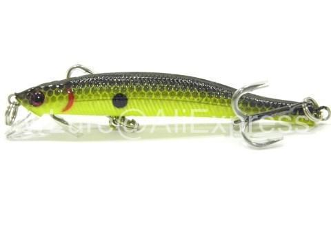 Wlure 5.3G 8.3Cm Slim Minnow Lure Very Tight Wobble Slow Sinking 2 #6 Treble-wLure Official Store-M662X2-Bargain Bait Box