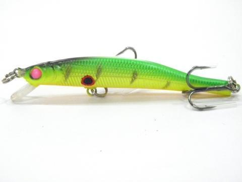 Wlure 5.3G 8.3Cm Slim Minnow Lure Very Tight Wobble Slow Sinking 2 #6 Treble-wLure Official Store-M662X28-Bargain Bait Box