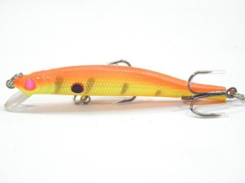 Wlure 5.3G 8.3Cm Slim Minnow Lure Very Tight Wobble Slow Sinking 2 #6 Treble-wLure Official Store-M662X29-Bargain Bait Box