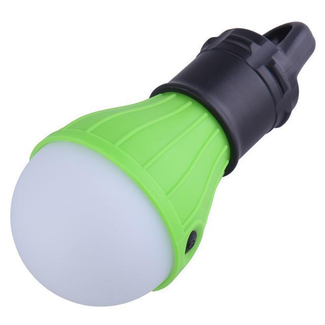 Wnnideo Led Tent Camping Accessory Lamp Emergency Light Battery Powered-wnnideo Official Store-Green-Bargain Bait Box