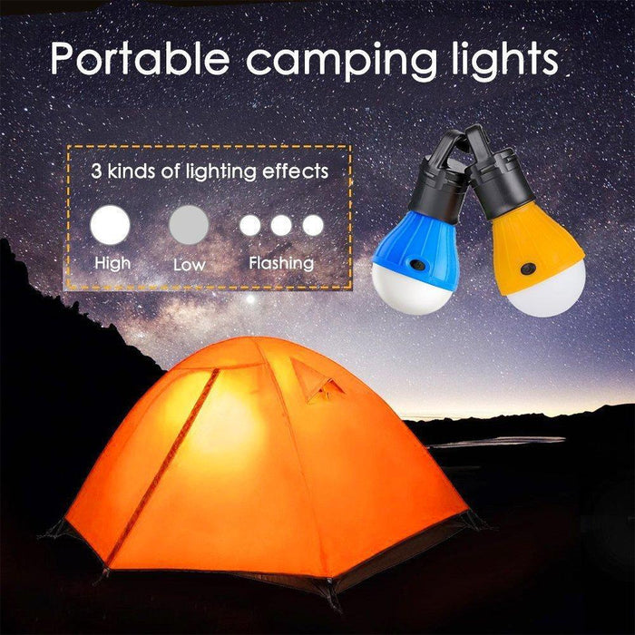 Wnnideo Led Tent Camping Accessory Lamp Emergency Light Battery Powered-wnnideo Official Store-Red-Bargain Bait Box