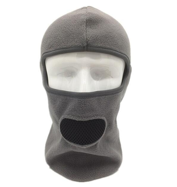 Wosawe 3-In-1 Head Mask Thermal Fleece Bicycle Sports Scarf Protect Mask Bike-Masks-Bargain Bait Box-Gray-Bargain Bait Box