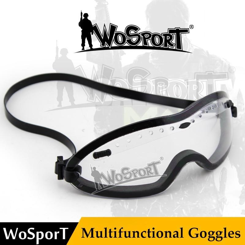 Wosport Tactical Smith Optics Boogie Regulator Goggle Tactical Goggle American-BestGoBuy Store-MA62ACC Black-Bargain Bait Box