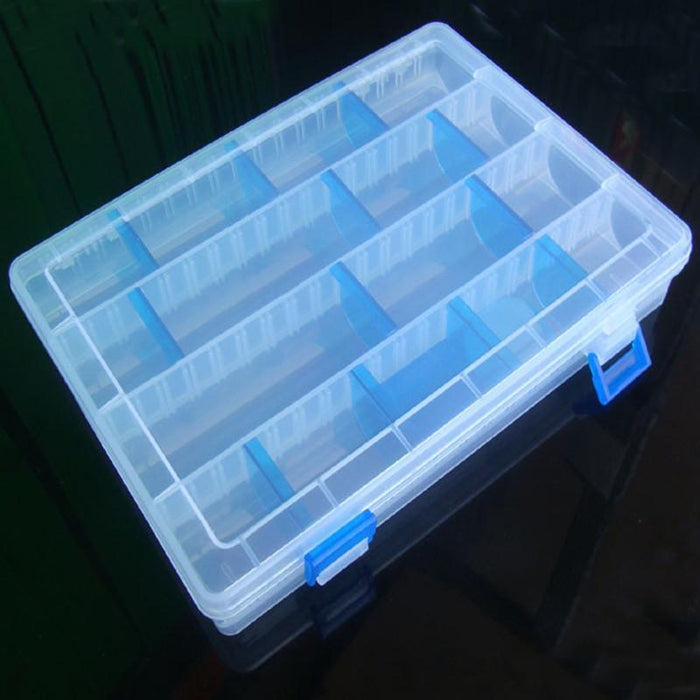 Y066 Large Freedom Detachabl Box More Frames Group Hard Bait Box Blue Gear-Tackle Boxes-Bargain Bait Box-Bargain Bait Box