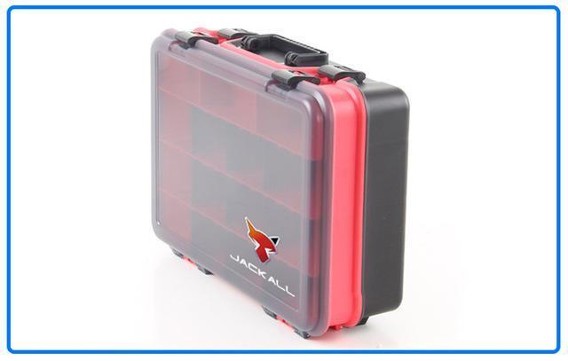 Y068 Fishing Tackle Boxes Freshwater Sea Fishing Portable Bait Box Receive A Box-Tackle Boxes-LLD Riding Store-Red-Bargain Bait Box