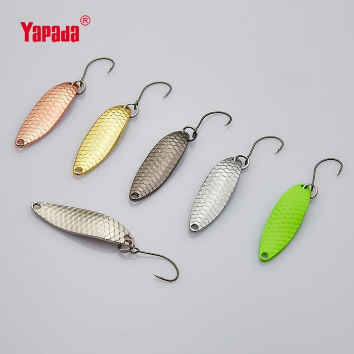 Yapada Spoon 013 Loong Claw 2G/3G/5G 32-38-45Mm Single Hook Multicolor-yapada Official Store-2g Multicolor 6piece-Bargain Bait Box