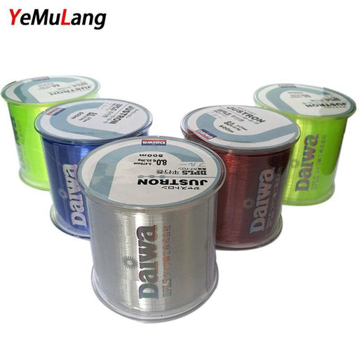 Yemulang 0.4#-8.0# 500M Monofilament Line Daiwa Japan Fly Nylon Fishing Lines-SongHua Fishing Store-White-0.4-Bargain Bait Box