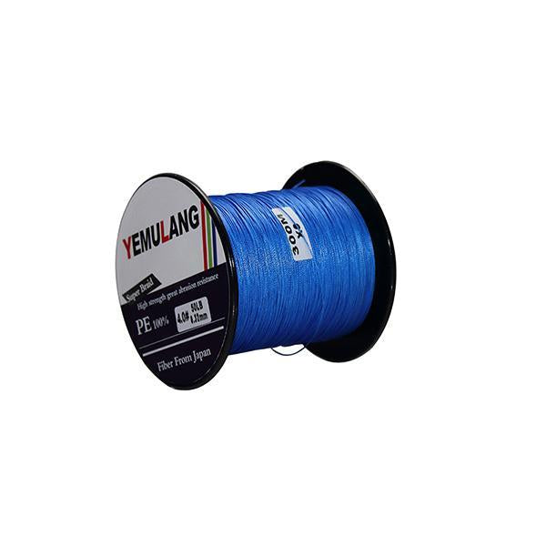 Yemulang 300M 8 Strands Multifilament 100% Pe Braided Fishing Lines For-Babo Fishing Trade Co., Ltd.-Blue-1.0-Bargain Bait Box