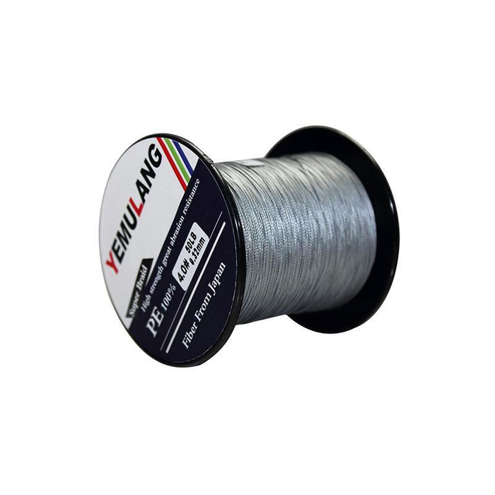 Yemulang 300M 8 Strands Multifilament 100% Pe Braided Fishing Lines For-Babo Fishing Trade Co., Ltd.-Gray-1.0-Bargain Bait Box