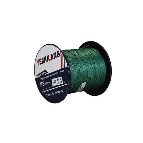 Yemulang 300M 8 Strands Multifilament 100% Pe Braided Fishing Lines For-Babo Fishing Trade Co., Ltd.-Green-1.0-Bargain Bait Box