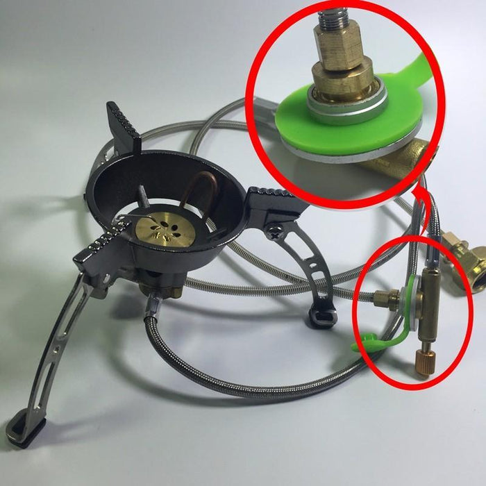 Yingtouman Outdoor Gas Stove Use Household Lpg Cylinder Gas Propane Conversion-YT Outdoor Store-Package 1-Bargain Bait Box