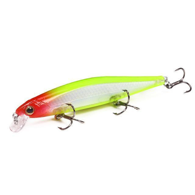 Ytqhxy Quality Minnow Fishing Lure 110Mm 13G Laser Slowly Sinking Crankbait Hard-YTQHXY Fishing (china) Store-B-Bargain Bait Box