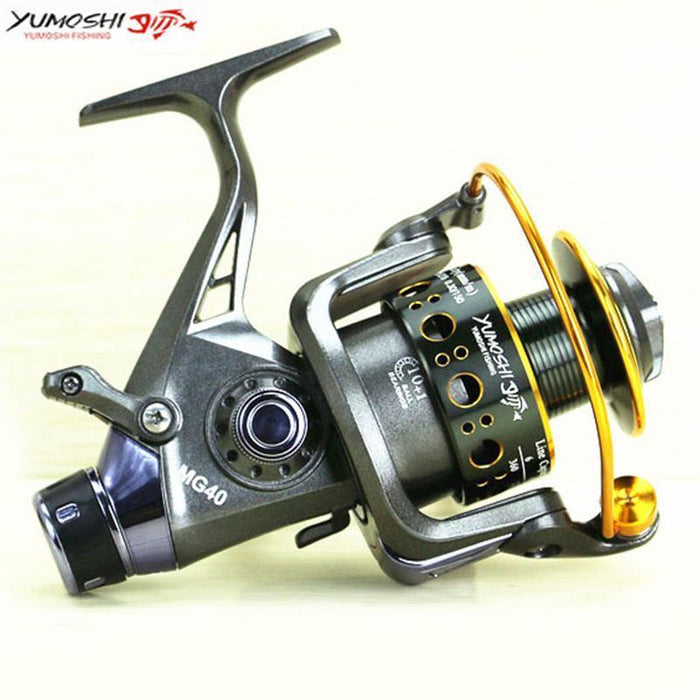 Yumoshi 11Bb Mg3000 - 6000 Spinning Fishing Lure Reel Carp Rear Drag Spool-Spinning Reels-Outdoor Sports & fishing gear-3000 Series-Bargain Bait Box