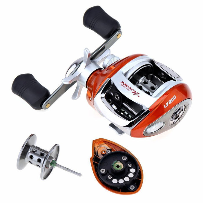Yumoshi 12+1Bb 6.3:1 Gear Ratio Stainless Steel Fishing Baitcasting Reel With-Baitcasting Reels-XSport Store-Left Hand-Bargain Bait Box