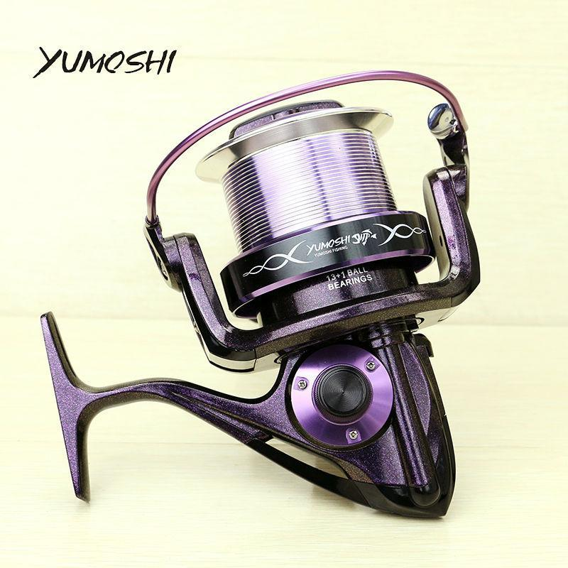 Yumoshi 14 Ball Bearings Color-Changing Paint Sea Boat Spinning Fishing Reel-Spinning Reels-yumoshi Official Store-Bargain Bait Box