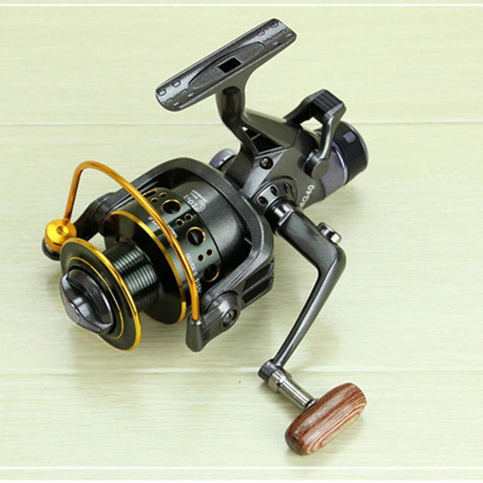 Yumoshi 5.2:1 10+1 Bb Front And Rear Drag Spinning Reels 3000 4000 5000-Spinning Reels-RedMeet Fishing Store-3000 Series-Bargain Bait Box