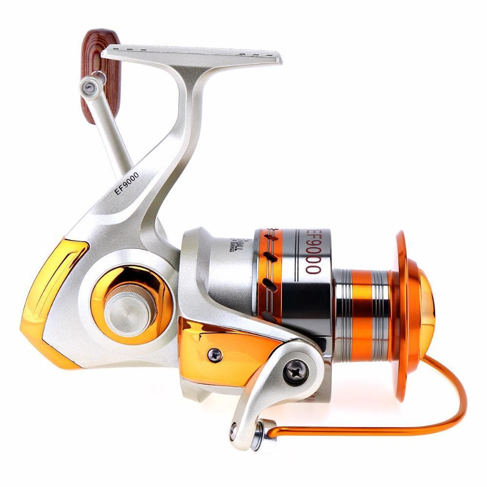 Yumoshi 9000 Series 12Bb 4.1:1 Gear Ratio Trolling Reel Long Shot Casting Big-Spinning Reels-XSport Store-Bargain Bait Box
