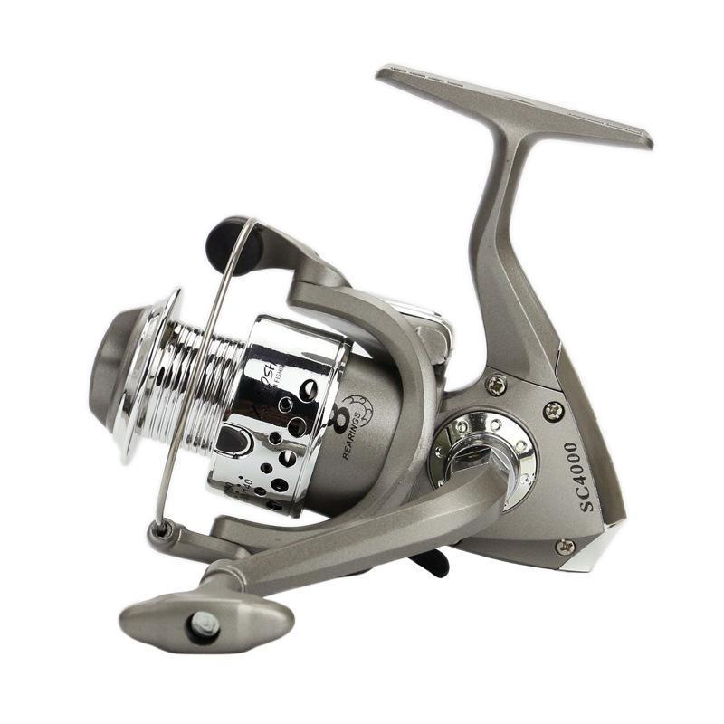 Yumoshi Beginner Angler Cheap Fishing Reels Plastic Base 1000 - 5000 Series-Spinning Reels-Outdoor Sports & fishing gear-1000 Series-Bargain Bait Box
