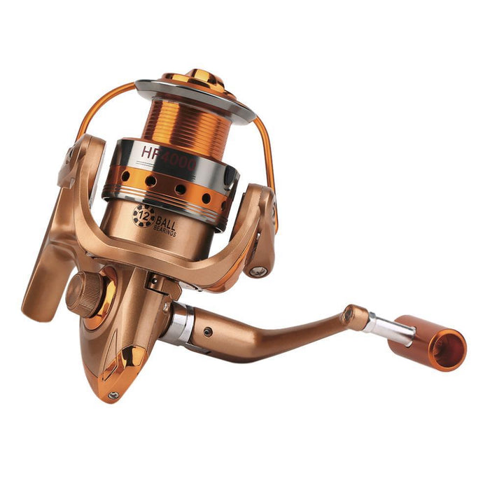 Yumoshi Brand Style Spinning Reels Hf500 - 7000 8000 9000 Big Model Wheel-Spinning Reels-Outdoor Sports & fishing gear-1000 Series-Bargain Bait Box