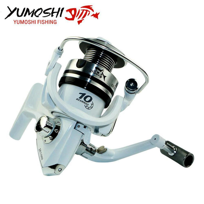 Yumoshi Coil Spinning Bait Moulinet Peche Casting Reel Sea Fishing Carp Pesca-Spinning Reels-Outdoor Sports & fishing gear-3000 Series-Bargain Bait Box