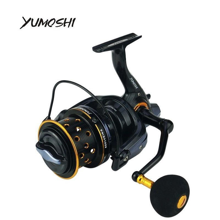 Yumoshi Fishing Reel Tk8000-10000 Metal 14+1Bb Spool Jigging Trolling Long-Spinning Reels-Outdoor life stores Store-8000 Series-Bargain Bait Box
