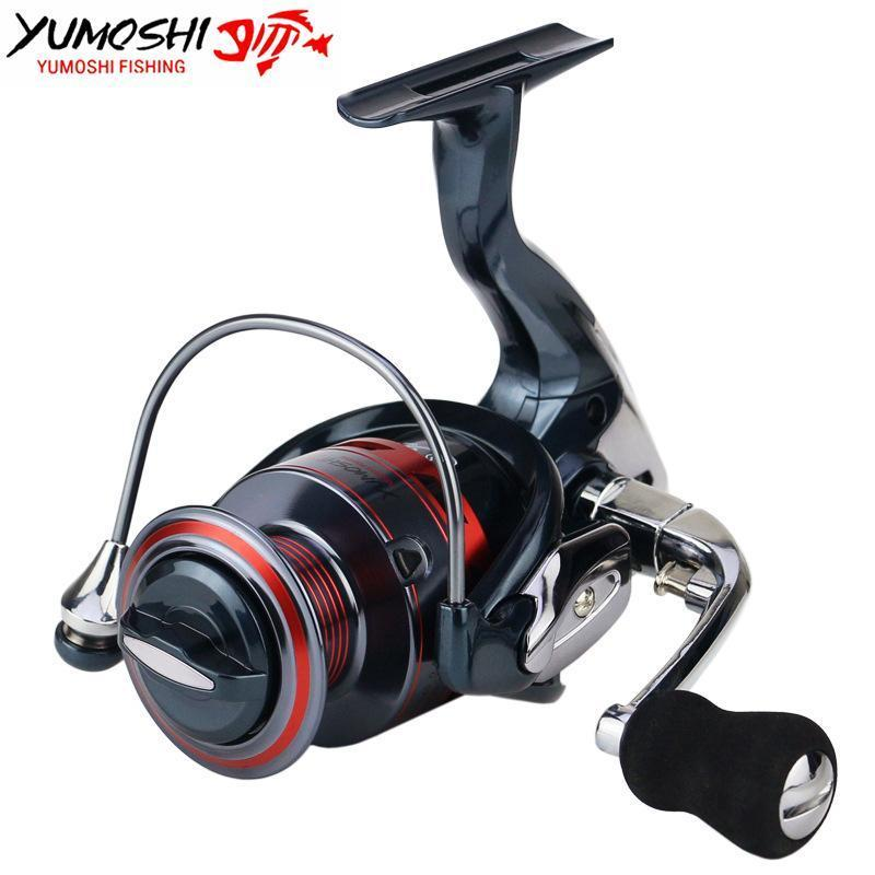 Yumoshi Full Metal Rocker Fishing Wheel 14Bb Bearings Gapless Metal Spool-Spinning Reels-Outdoor Sports & fishing gear-1000 Series-Bargain Bait Box