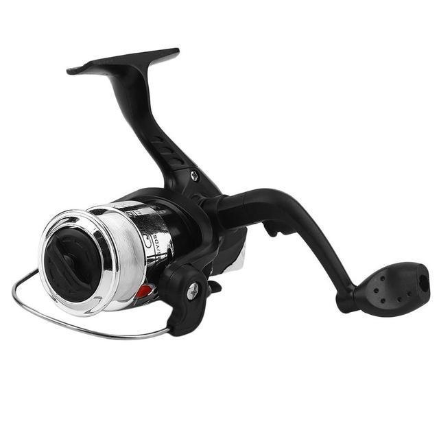 Yumoshi Jl200 Electroplating Fishing Reels Exchangable Handle Fishing Reel-Spinning Reels-ON THE WAY Store-Silver-Bargain Bait Box