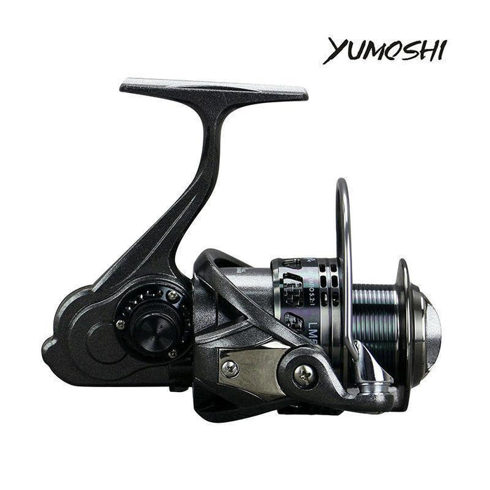 Yumoshi Lm13+1Bb Full Metal Bearing Stainless Steel Fishing Vessel-Spinning Reels-yumoshi Official Store-2000 Series-Bargain Bait Box