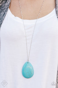 Silver & Turquoise Blue Fashion Set
