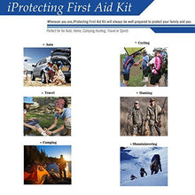 First Aid Kit 119 pcs - Professional Design for Car, Home, Camping, Travel, Outdoors or Sports, Small & Compact