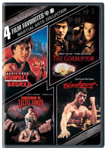 4 Film Favorites: Martial Arts Collection (Rumble in the Bronx / The Corruptor / Showdown in Little Tokyo / Bloodsport) [Import]
