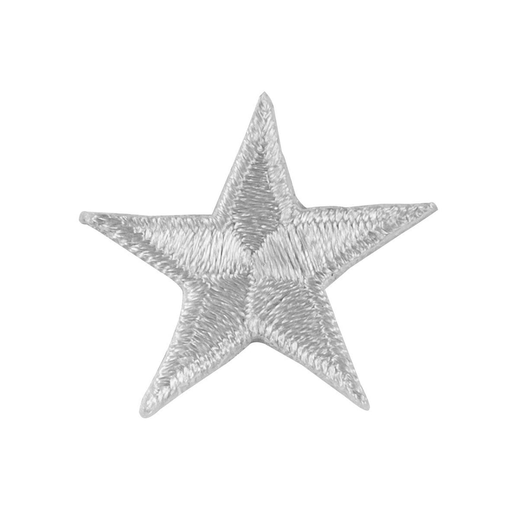 Star Patches, White, Silver, or Gold (single or 10 pack)