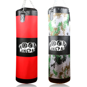 100 cm Red/Camouflage Color Training Punching Bag For Fight/Martial Art, Oxford Cloth Empty Sandbag 2017
