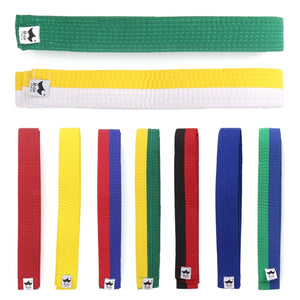 250cmx4cm Polyester + EVA, Martial Art Belt, Black, Red, Green, Yellow Etc. for Adults or Kids
