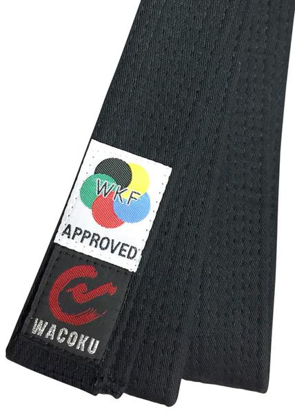 Belt, Wacoku WKF Approved Black