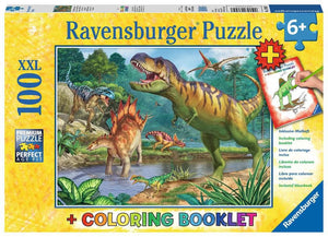 World of Dinosaurs Puzzle - 100pc