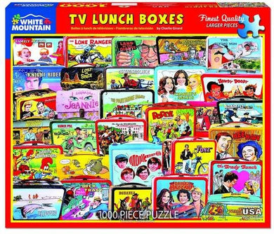 TV Lunch Boxes  - 1000pc Puzzle