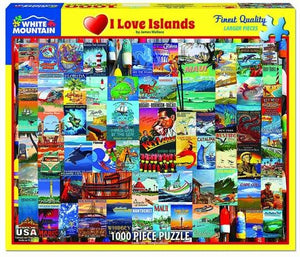 I Love Islands - 1000pc Puzzle