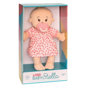 Wee Baby Stella Doll Peach with Blonde Hair
