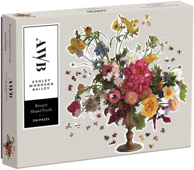 Ashley Woodson Bailey Shaped Puzzle - 750pc