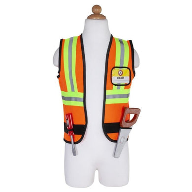 Construction Worker Set Incl: 7 Accessories, Size 5-6