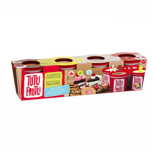 Tutti Frutti Scented Modeling Play Dough 4PK Cake Scents