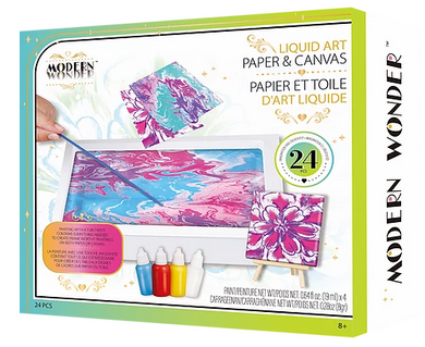 Monder Wonder Liquid Art Paper & Canvas