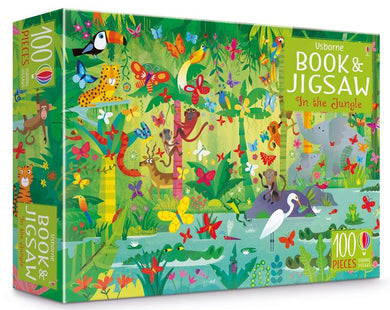 Book & Jigsaw Puzzle - In the Jungle