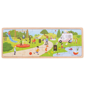 In The Park Puzzle - 24pc