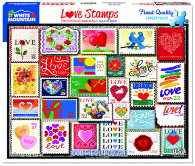 Love Stamp - 1000pc Puzzle