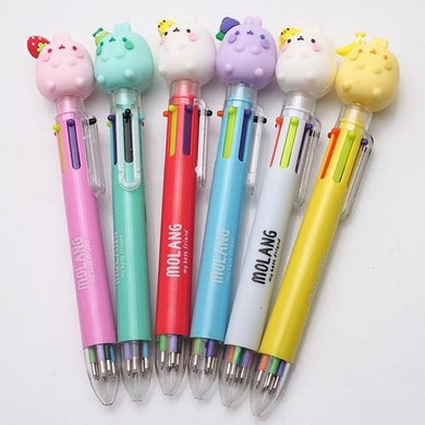Molang Figure 6-Color Pen